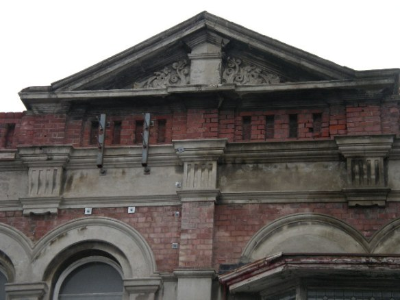 139-141 High St Pediment