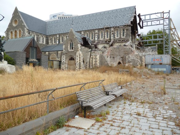 The Christchurch Cathedral in the square. Why not repair the heart and soul of the city???