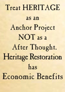 Heritage is an Anchor project, not a after thought.